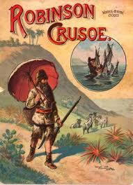 robinson crusoe my hero this is the cover of my favorite book